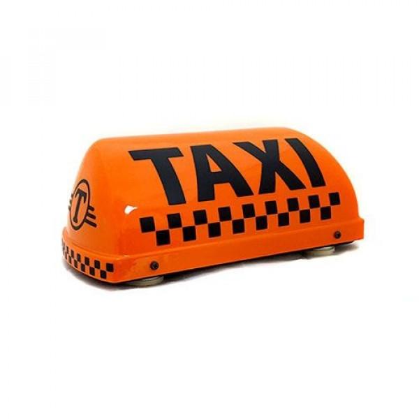 """Шашка такси на магните """"Классик"""" с подсветкой, 30х13 см"""