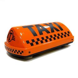 """Шашка такси на магните """"Дрозд"""", с подсветкой, 33х17 см"""