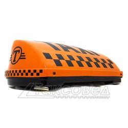 """Шашка такси на магните """"Индиана"""", с подсветкой, 42х18 см"""