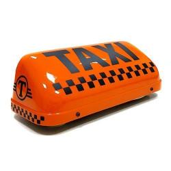 """Шашка такси на магните """"Комфорт"""", с подсветкой, 33х14 см"""