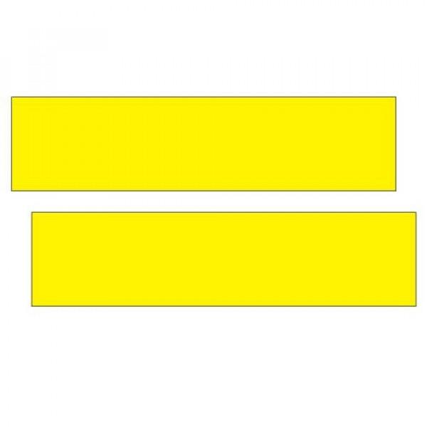 Желтые светоотражающие ленты такси МО, 60х15, 2 шт.