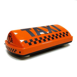 "Шашка такси на магните ""Метрополь"", с подсветкой, 34х17 см"