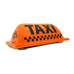 "Шашка такси на магните ""Сокол"", без подсветки, 38х17 см"