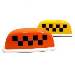 """Шашка такси на магните """"Стандарт 1"""" с подсветкой, 28х11 см"""