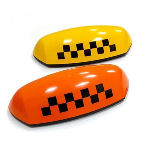 """Шашка такси на магните """"Стандарт 3"""" с подсветкой, 37х15 см"""